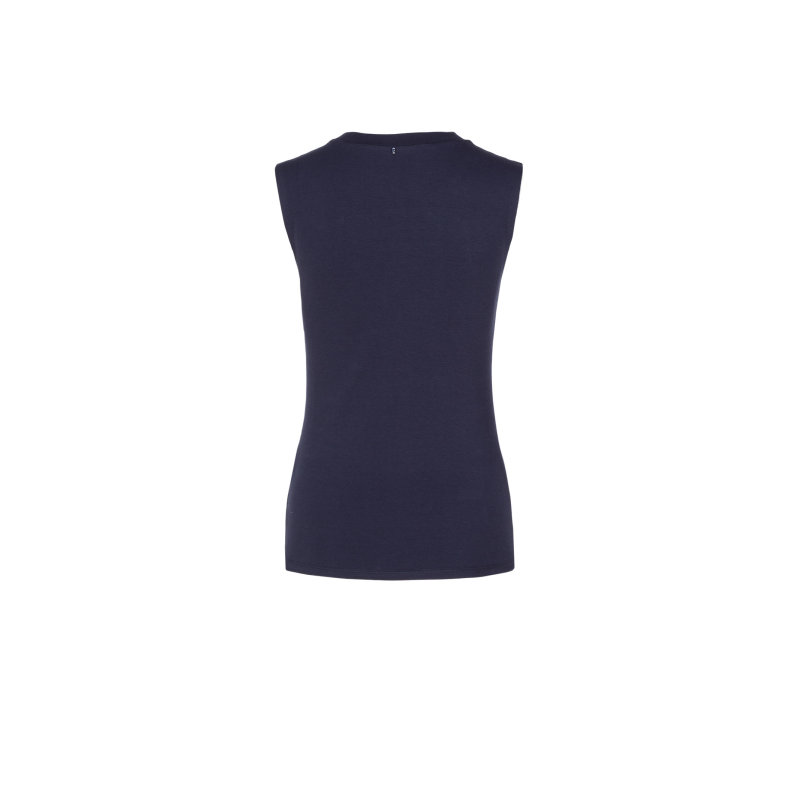 Ottico top SPORTMAX CODE navy blue