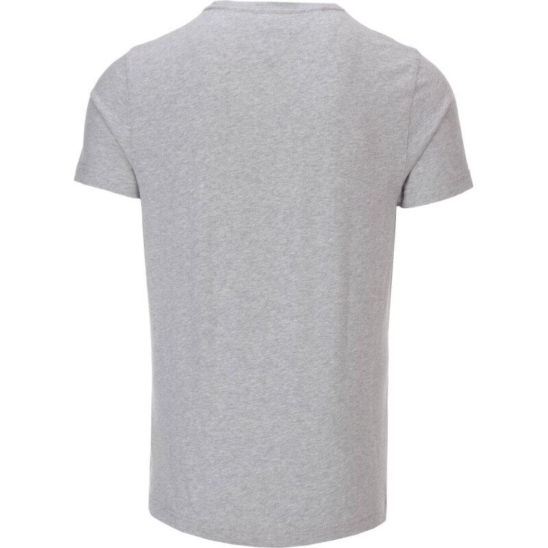 T-shirt Flag Tee C-NK Tommy Hilfiger szary