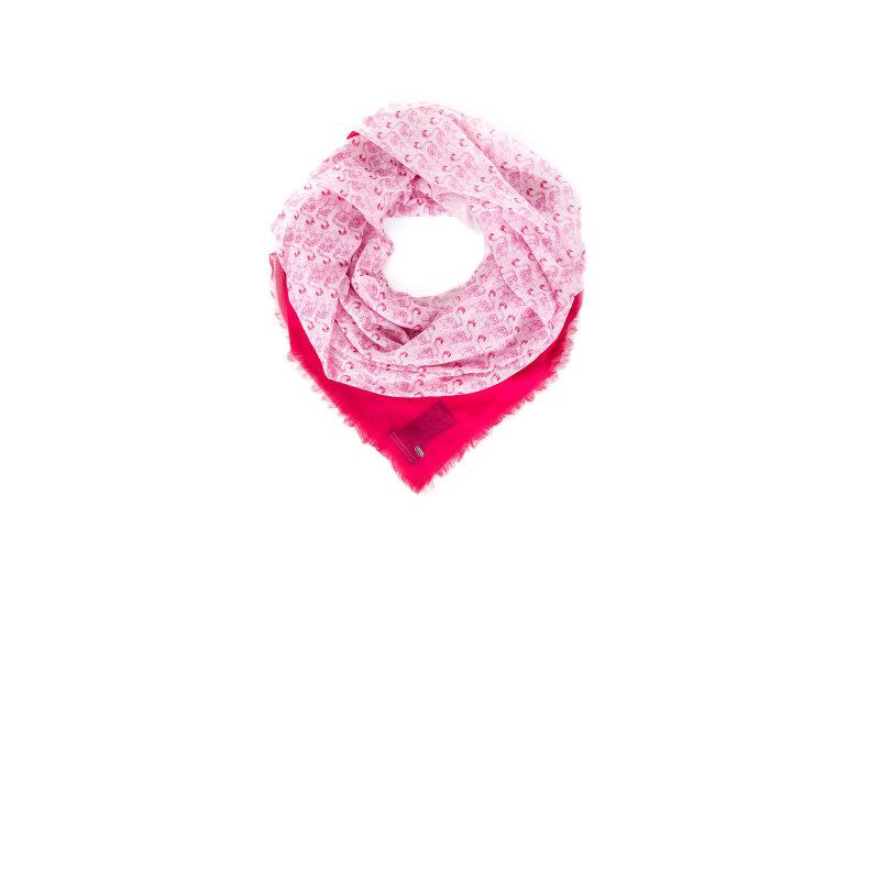 Szal Gimena Tommy Hilfiger różowy
