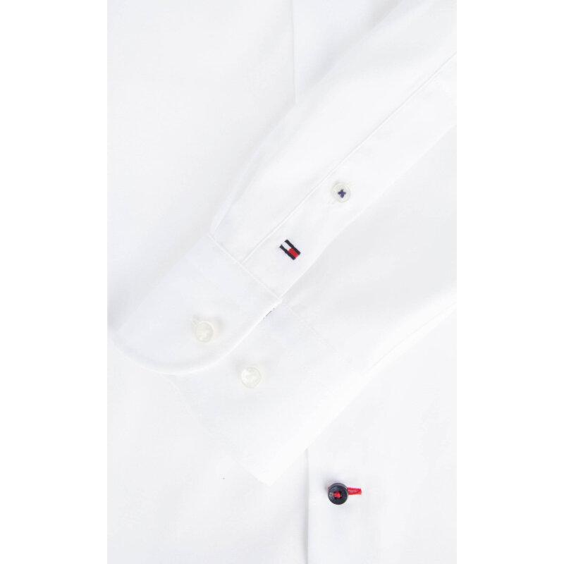 Koszula Cotton Poplin Tommy Hilfiger Tailored biały