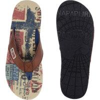 Toledo flip-flops Napapijri brown