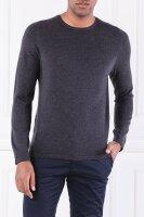 Wełniany sweter | Shaped fit Marc O' Polo grafitowy