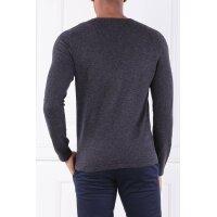 Wełniany sweter   Shaped fit Marc O' Polo grafitowy