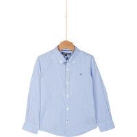 Koszula Jacob Micro Tommy Hilfiger niebieski
