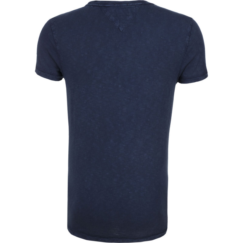 Halbarm T-shirt Hilfiger Denim navy blue