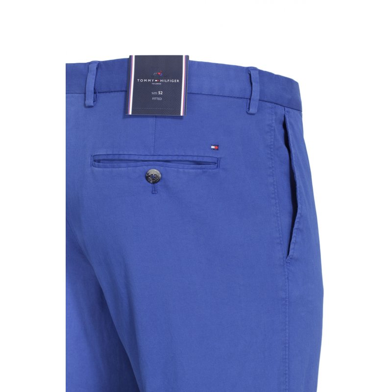 Spodnie Chino William-W Tommy Hilfiger Tailored niebieski