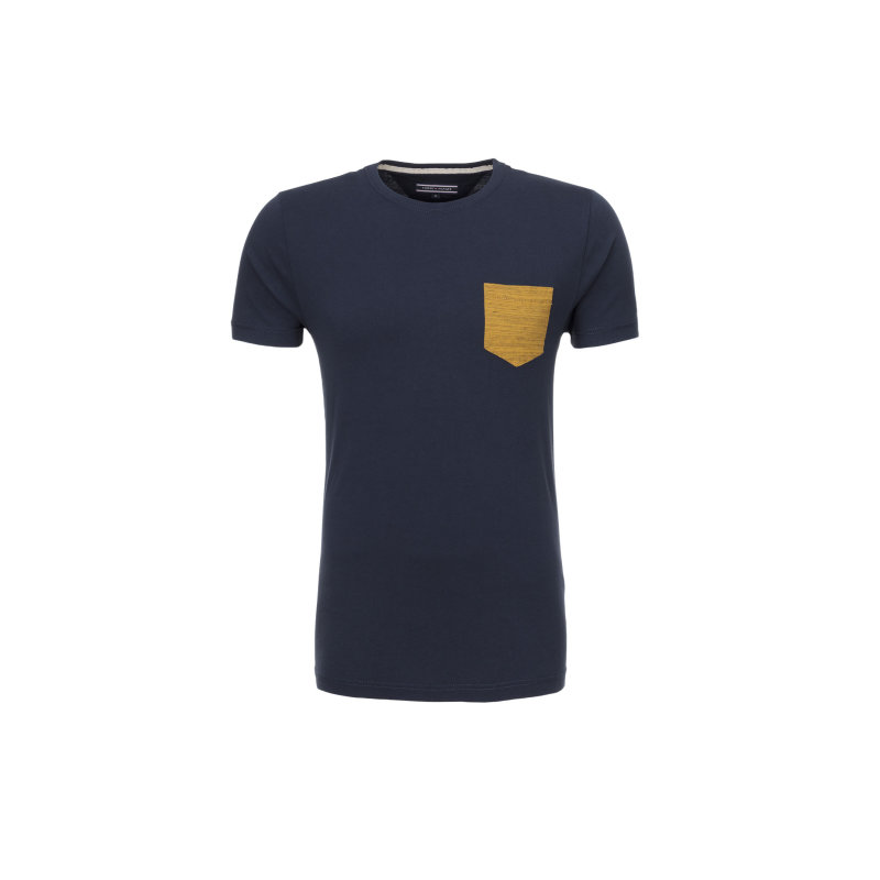 T-shirt NormanTee Tommy Hilfiger granatowy