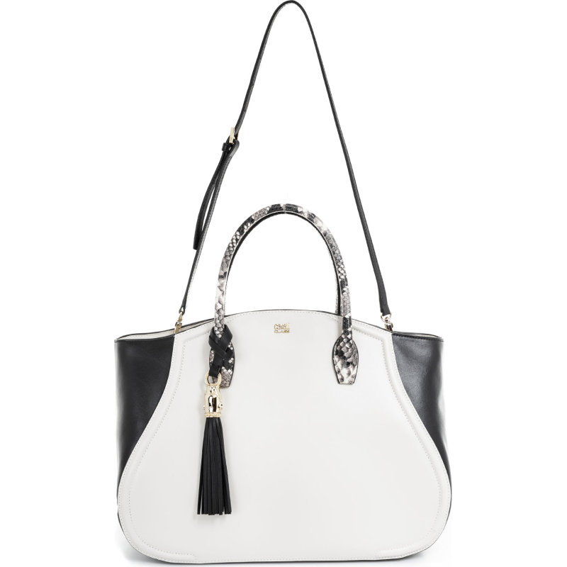 Daphne Shopper bag Cavalli Class cream