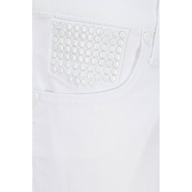 Szorty J09 Sunflower Armani Jeans biały