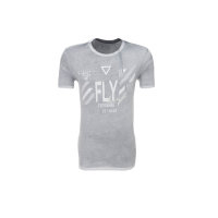 T-shirt Fly Guess Jeans popielaty