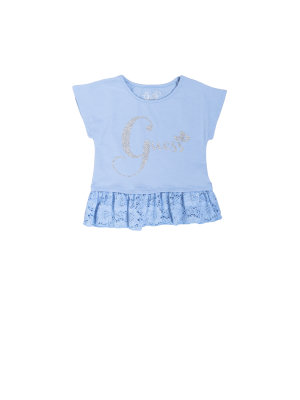 Guess Girls Flag T-shirt