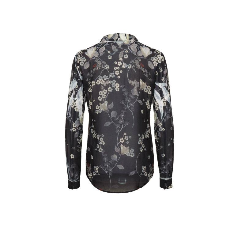 Koszula Grijs Guess Jeans czarny