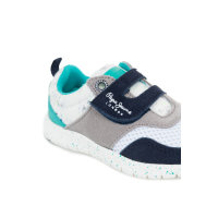 Sneakersy Coven Velcro Pepe Jeans London turkusowy