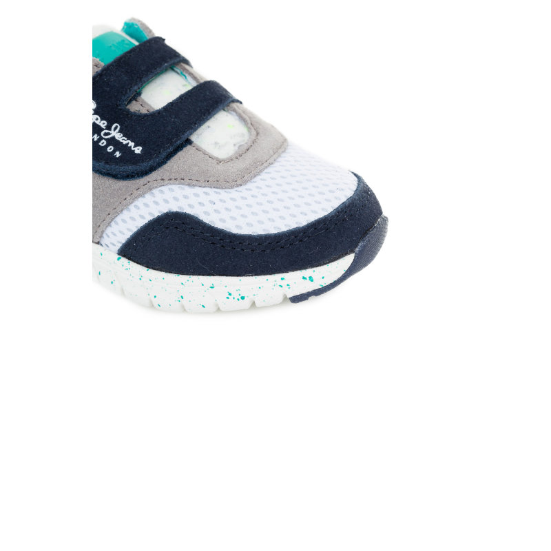 Coven Velcro Sneakers Pepe Jeans London turquoise