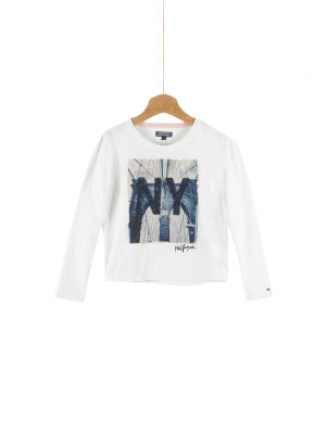 Tommy Hilfiger Photo Print Blouse