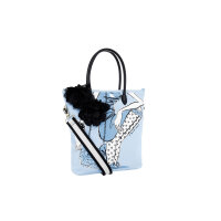 Shopper bag Twin-Set blue