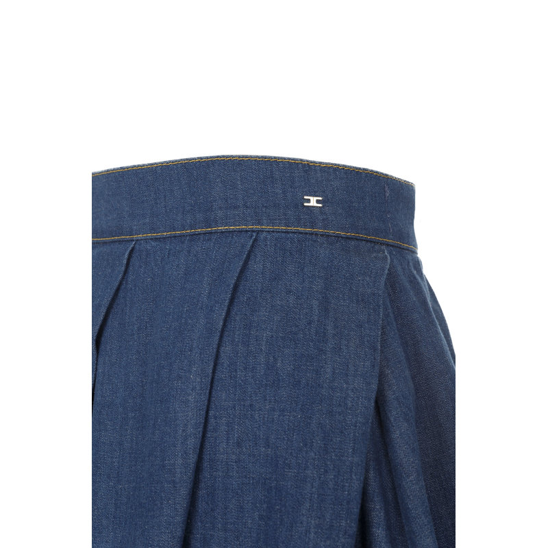 Spódnica Elisabetta Franchi niebieski