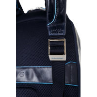 Backpack Piquadro navy blue