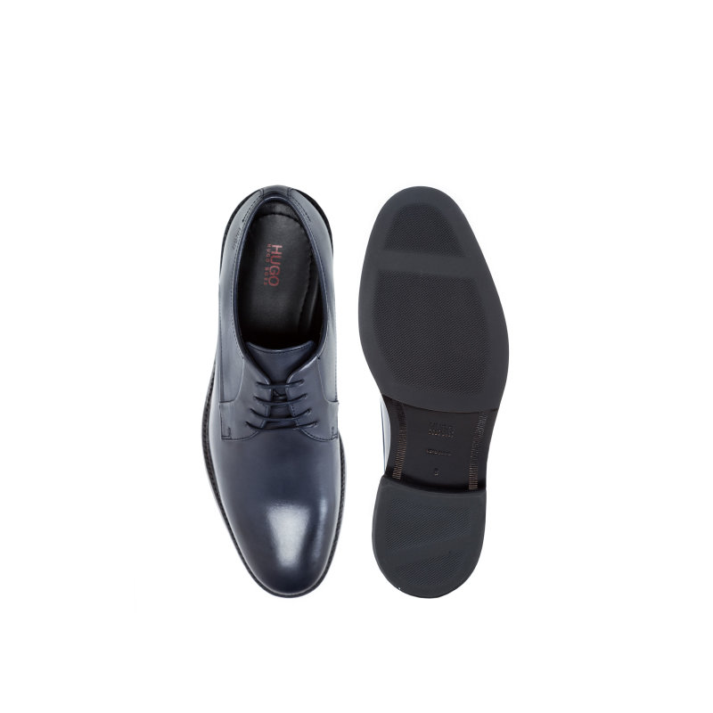 Neoclass_Derb_bu dress shoes Hugo navy blue