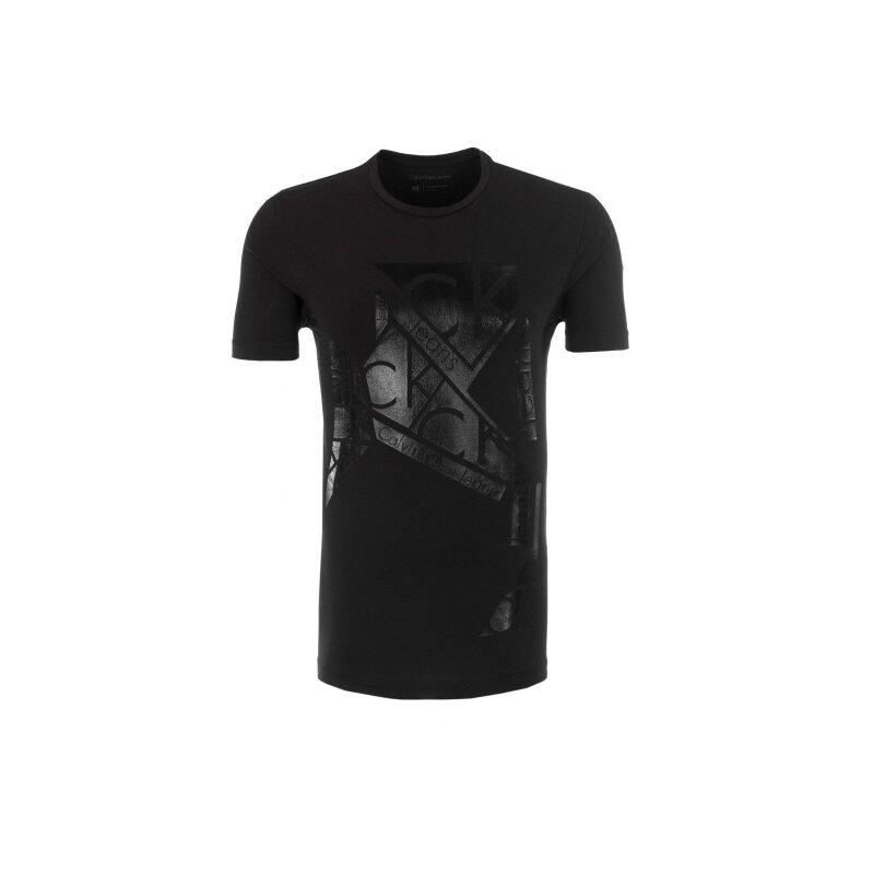 Meteorite T-shirt  Calvin Klein Jeans black