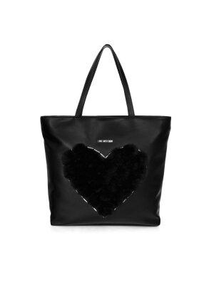 Love Moschino Shopperka Pon Pon Heart