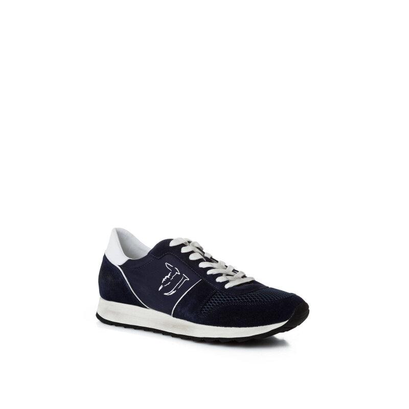 Sneakers Trussardi Jeans navy blue