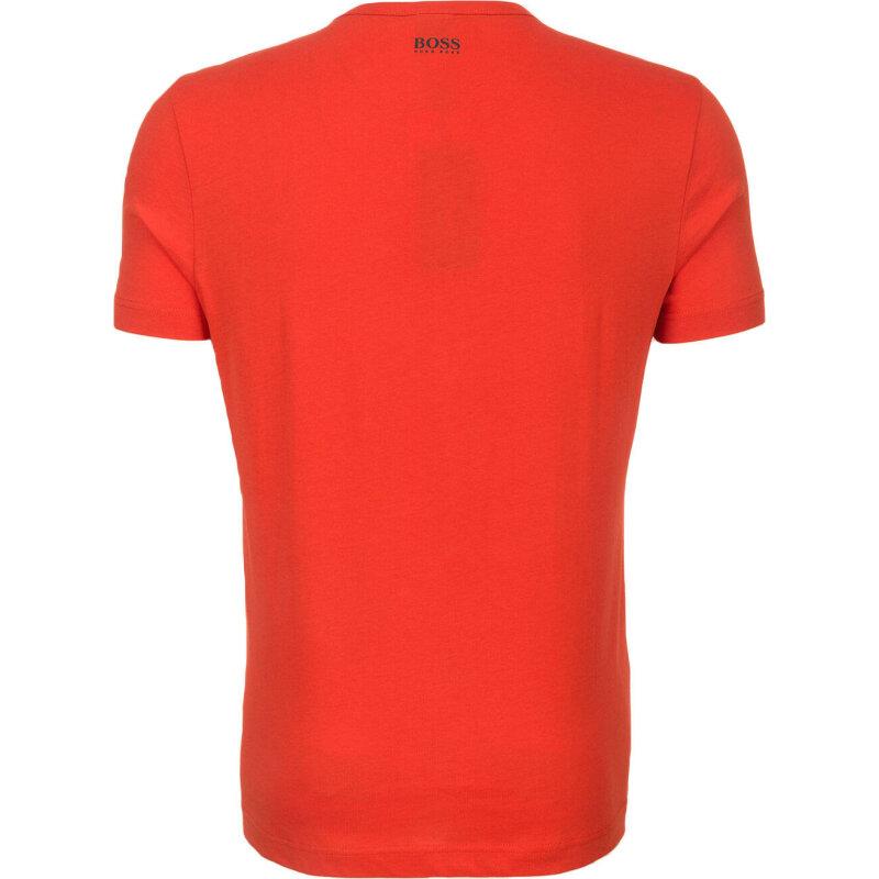 T-shirt Tee 1 Boss Green czerwony