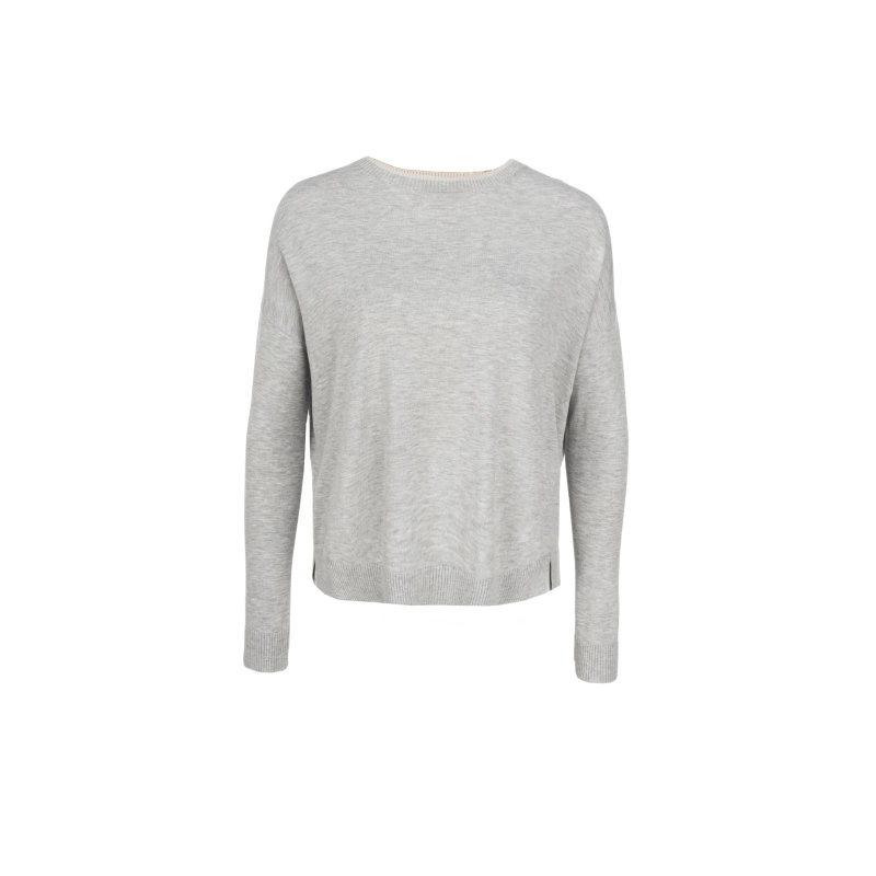 Hidesia sweater Weekend Max Mara ash gray