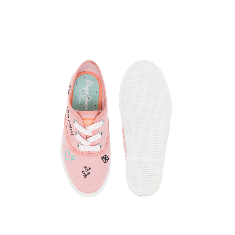 Soho Draw Sneakers Pepe Jeans London pink