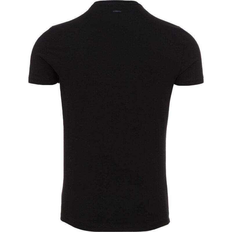 T-shirt Iceberg black
