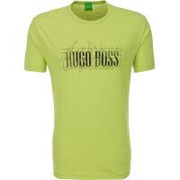 T-shirt Tee 1 Boss Athleisure limonkowy
