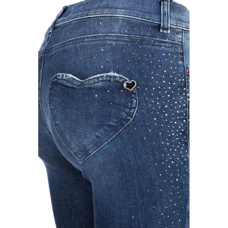 Jeansy Twinset Jeans niebieski