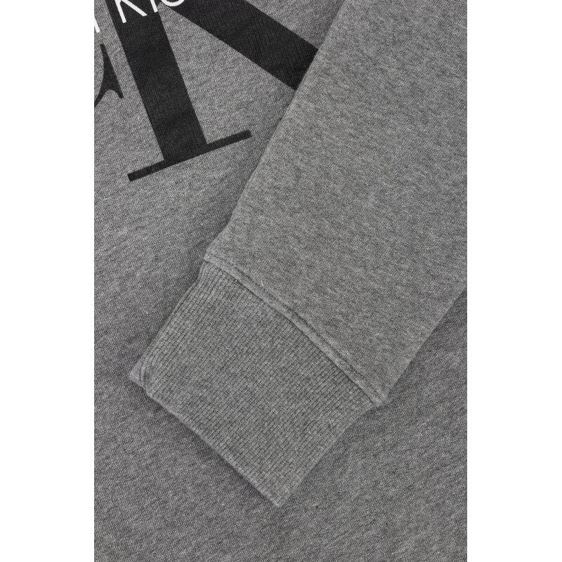 Bluza Logo Calvin Klein Jeans szary