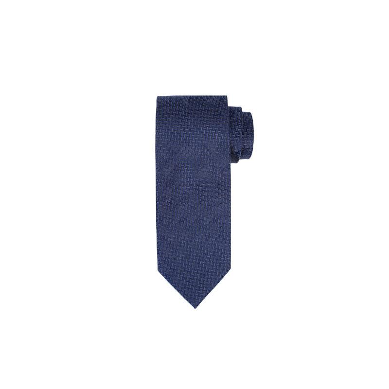 Krawat Boss granatowy