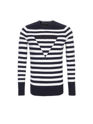 Guess Jeans Sweater LS RN striped thiago