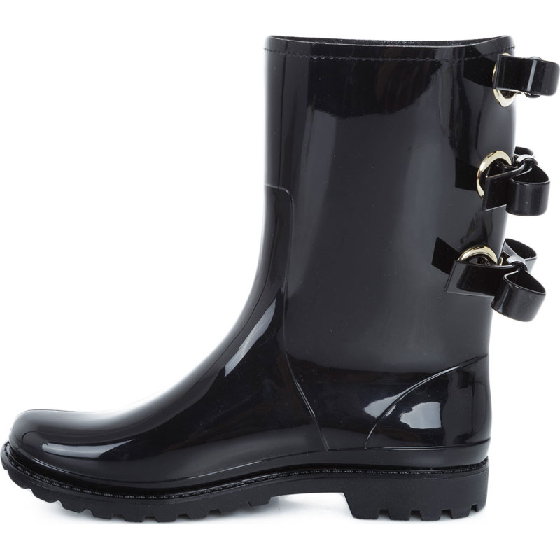 Rain boots Red Valentino black