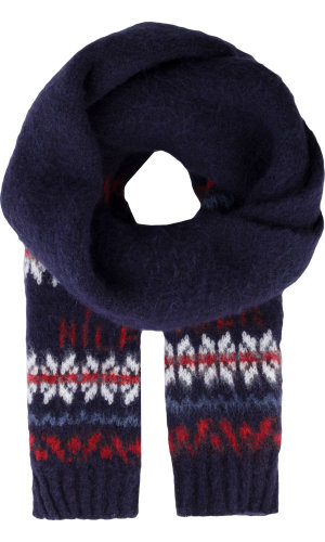 Tommy Hilfiger Scarf Brushed Fairisle