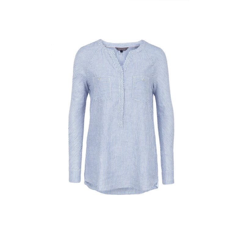 Bluzka Dima Tommy Hilfiger niebieski