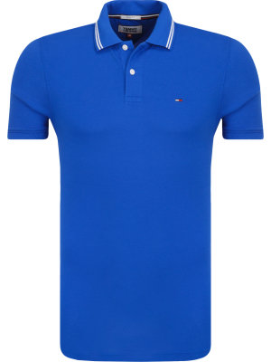 Tommy Jeans Polo Essential | Slim Fit | pique