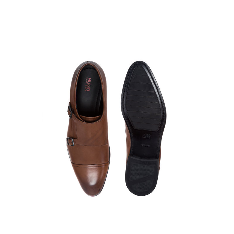 Dressapp_Monk_buck shoes Hugo brown