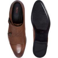 Dressapp_Monk_buck shoes Hugo brown
