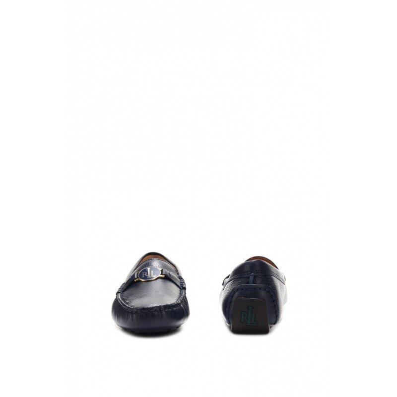 Mokasyny Carley Lauren Ralph Lauren granatowy