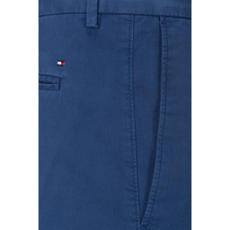 Spodnie Chino William-W Tommy Hilfiger Tailored granatowy