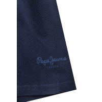 T-shirt Original Basic Pepe Jeans London granatowy