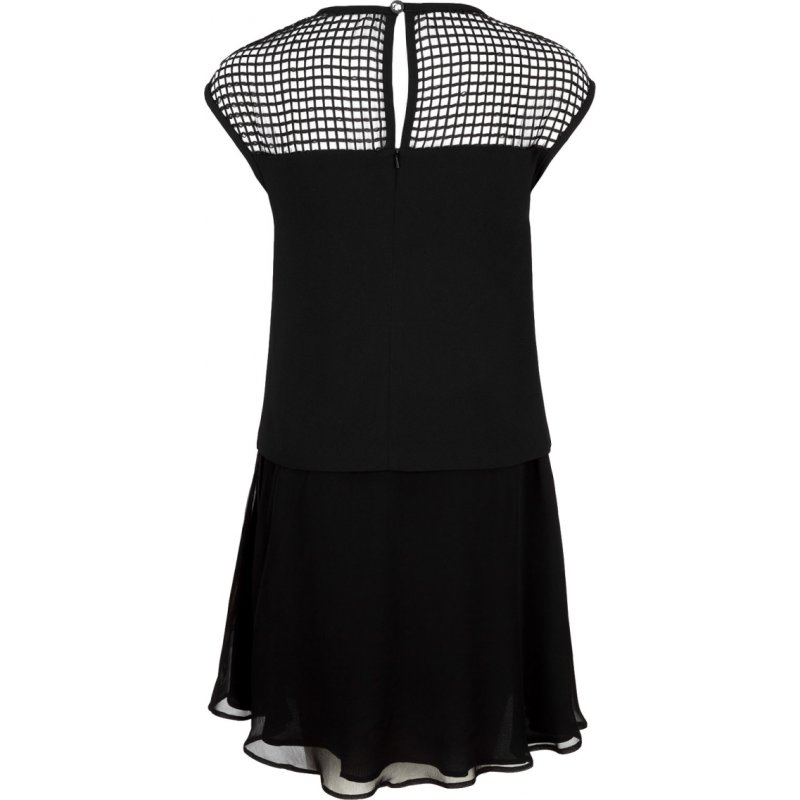 Mesh dress Karl Lagerfeld black
