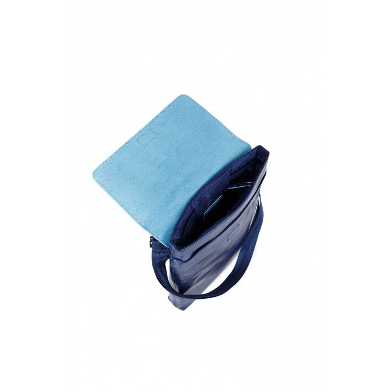 Reporterka Piquadro niebieski
