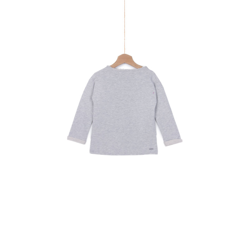 Saskia Sweatshirt Pepe Jeans London gray