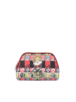 Love Moschino Charming Cosmetic Bag