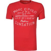 T-shirt Marc O' Polo czerwony