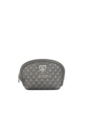 Love Moschino Heart Quilted Cosmetic Bag